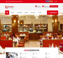 Restaurant Web Paketi Kudüs OFM0264
