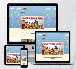 Kreş / Ana Okulu  Web Paketi OFM0179